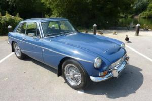 MG C MGC GT AUTO 1968 - VERY RARE COVERED ONLY 38,000 MILES WARRANTED FROM NEW  Photo