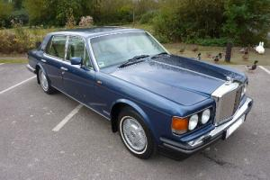 BENTLEY MULSANNE S 1990 METALLIC BLUE COACHWORK WITH COACH LINECREAM HIDE INTER  Photo
