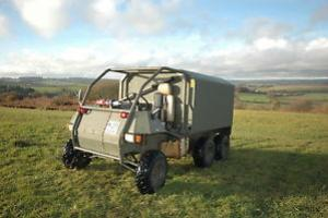 EX UK ARMED FORCES ROUSH LAS 100 RE LIGHT WEIGHT 6 WHEELED DRIVE ATV