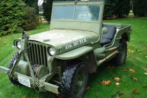 willys jeep 1945 mb