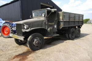 1945 GMC TYPE 353, DUECE AND A HALF TON 6X6 MILITARY VEHICLE