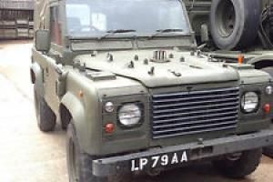 Land Rover Wolf GS Soft top, TUL 4 x 4 Turbo Diesel