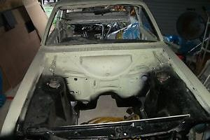 1980 FORD ESCORT RS CUSTOM WHITE/BLUE UNFINISHED PROJECT