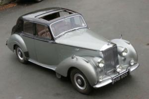 1952 Bentley R Type Manual Saloon B150SR