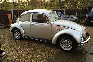 1978 CLASSIC Beetle 11 of last 300 12mths MOT 5mths tax delivery incl 50 miles