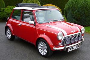 2001 ROVER MINI COOPER SPORT RED