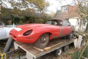E-type series 1 3.8 1962 complete needs resto.RHD British car... Photo