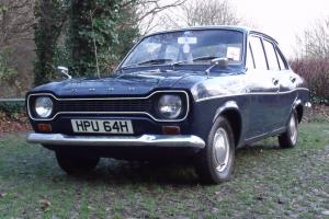 1970 FORD ESCORT MK1 1100 DELUXE 1 FAMILY OWNED FROM NEW WITH HISTORY FREE TAX