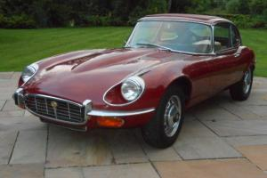 1972 JAGUAR E TYPE SERIES III V12 Manual 2+2 Coupe Low miles Last owner 32 years