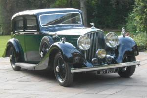 1937 BENTLEY 4 1/4 LITRE DERBY HOOPER ALL ALUMINIUM SPORTS SALOON