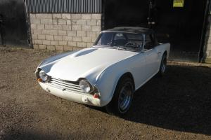 1964 Triumph TR4 LHD For Restoration.
