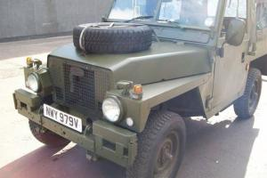 EX MILITARY SWB LIGHTWEIGHT LANDROVER (Lot 4)