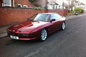 1991 BMW 850 I RED MANUAL V12 - GREAT CONDITION - LOOKS TO DIE FOR - NOT 840