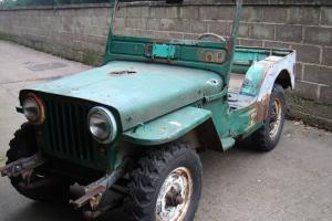 willys GPW jeep ww2 military vehicle