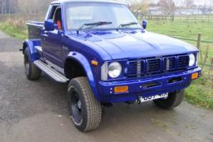 STUNNING 1981 TOYOTA HILUX PICKUP HOTROD, BUILT FROM SCRATCH, 247mls from build