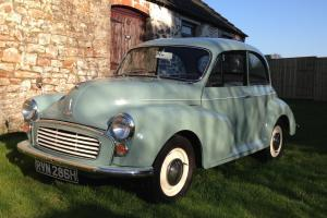 Morris Minor, restored and ready to go