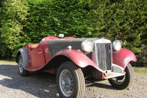 1953 MG TD barn find with competition history