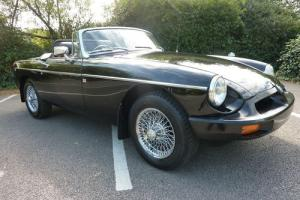 MGB ROADSTER 1977 BLACK (FULL REPAINT SEPT 2013) NEW BLACK INTERIOR - STUNNING Photo