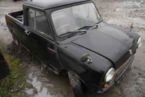 Austin Mini Pick Up, For complete restoration,Very straight & original but rusty