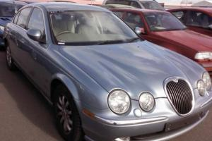 JAGUAR S-TYPE 2.5 V6 SE 4D AUTO, CREAM LEATHER,