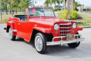 Willys : Jeepster Convertible