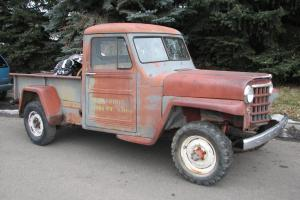 Willys : Overland Jeep Pickup