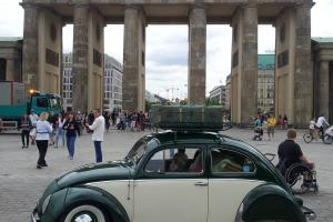classic vw oval beetle cars