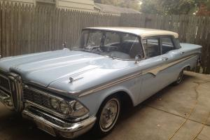 Edsel Ranger 292ci 4 door Retro American Cruiser Photo