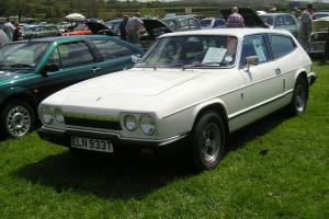 1979 RELIANT SCIMITAR 3.0GTE SE6A AUTO WHITE. Tax and test.