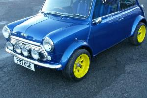 rover mini 1275 i 13inch alloys sports pack archs twin excaust bucket seats Photo