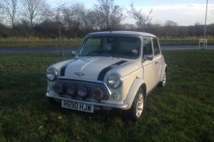 1998 ROVER MINI 1275,CLASSIC MINI SPORTPACK,RARE WHITE WITH FSH AND ONLY 64k.