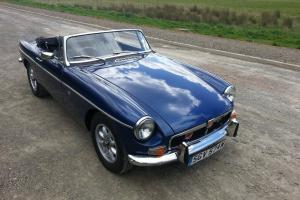 WONDERFUL 1981 3.5 BERMUDA BLUE MGB V8 ROADSTER NO RESERVE  Photo