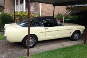 1965 Mustang Fastback 2 2 NO Reserve
