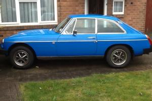 MGB GT 1977- Great Condition. 12 months MOT and 6 months tax.  Photo