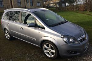 2008 VAUXHALL ZAFIRA SRI SILVER 51000 miles 7 seater swap land rover 4x4 + cash