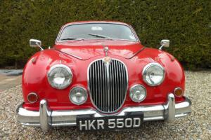 Jaguar MK II 3.4 manual mk2 mk 2 with o/drive px welcome