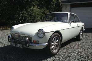 Stunning MG BGT, 1972 Tax Exempt (Old English White)  Photo