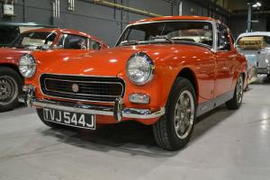 Completely Restored 1970 MG Midget with Ashley GT Hardtop - Healey Sprite