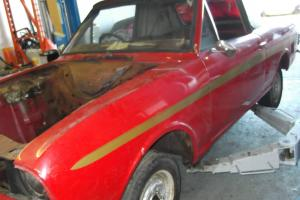 FORD LOTUS CORTINA MK2 CRAYFORD CABRIOLET PROJECT !!!!!