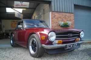 1975/N Triumph TR6 2500cc Manual with Overdrive Damask Photo
