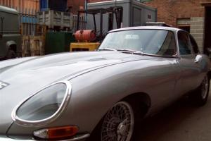 JAGUAR 'E' TYPE SILVER Photo