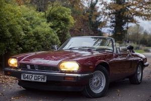 1990 JAGUAR XJS XJ-S CONVERTIBLE V12 FULL HISTORY Photo