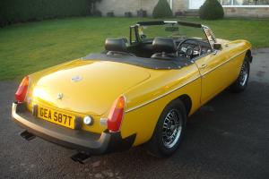 MGB V8 ROADSTER WITH FULL HISTORY