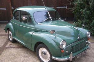 Morris Minor Series 2, Split Screen, Fitted later 1098cc running gear.