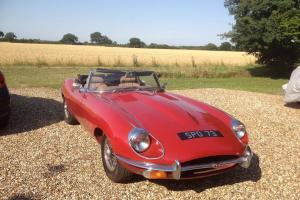 E Type Roadster S3 1969 Photo
