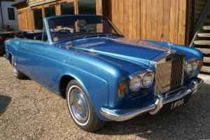 1970 ROLLS ROYCE Mulliner Park Ward convertible.Fantastic reg no included. 1 KOG Photo