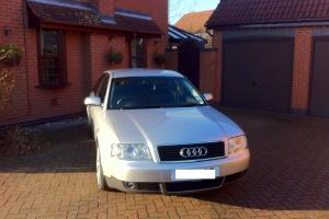 2004 AUDI A6 2.4 SE AUTO SILVER IMMACULATE TAXED AND TESTED FSH LOW MILEAGE