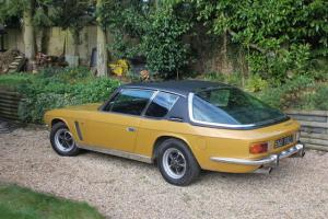 1971 JENSEN INTERCEPTOR, BEAUTIFUL METALLIC GOLD, LOVELY BLACK LEATHER INTERIOR