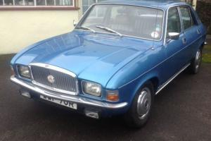 VANDEN PLAS 1500 (ALLEGRO SHAPE), 44,000 MILES FROM NEW, COMPLETE HISTORY