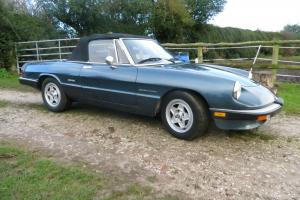 ALFA ROMEO SPIDER. 1990 LHD, MOT and Tax, clean and ready to enjoy